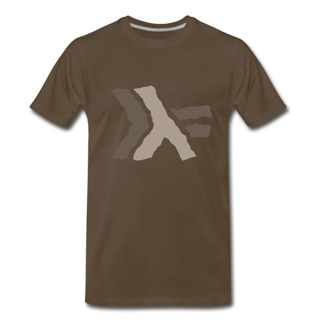 Haskell logo painted: nautral brown