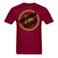 T-Shirts ~ Men's T-Shirt ~ Play Crosswalk Heroes Male Tee