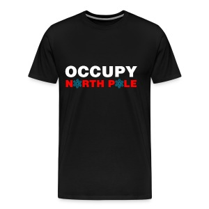Occupy North Pole T-shirt - Men's Premium T-Shirt