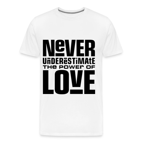 power of love - Men's Premium T-Shirt