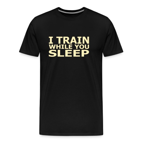 I TRAIN - Men's Premium T-Shirt