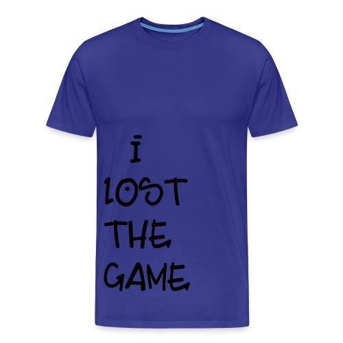 I Lost The Game - Men's Premium T-Shirt