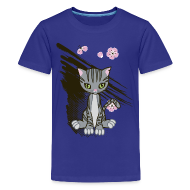 Kids' Shirts ~ Kids' Premium T-Shirt ~ Cute Kitten Ladies T-shirt