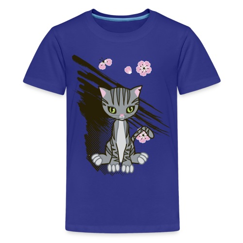 Cute Kitten Ladies T-shirt - Kids' Premium T-Shirt