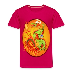 Year Of The Dragon and Symbol - Toddler Premium T-Shirt