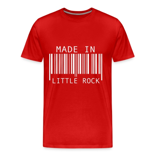 Made in Little Rock T-shirt - Men's Premium T-Shirt