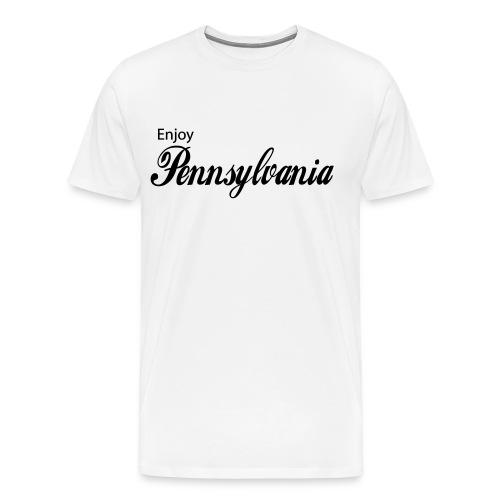 Enjoy Pa  - Men's Premium T-Shirt