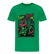 T-Shirts ~ Men's Premium T-Shirt ~ [Limited Release] Tiger & Bunny Action Tee