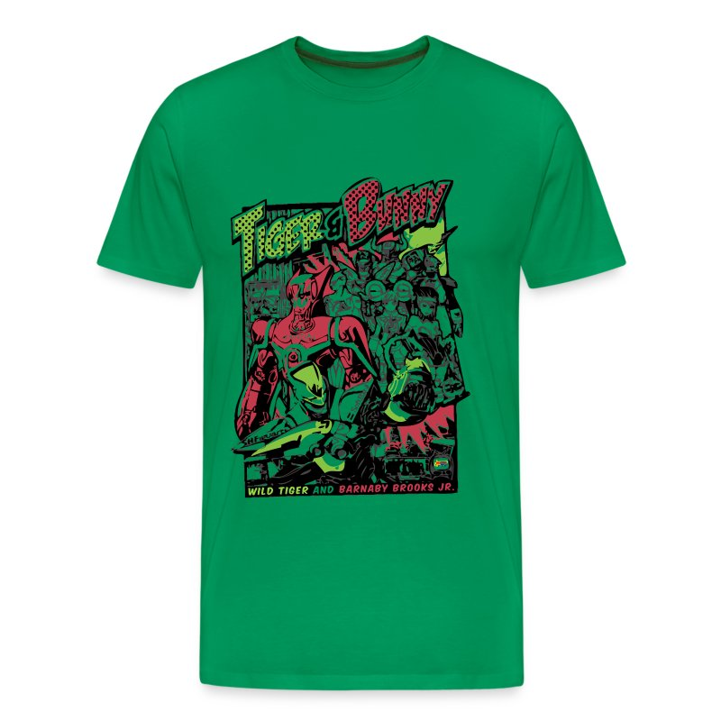 [Limited Release] Tiger & Bunny Action Tee - Men's Premium T-Shirt