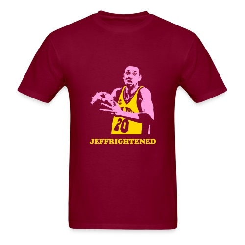 Jeffrightened YP - Men's T-Shirt