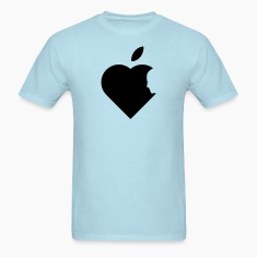 Apple Heart jobs (1c) T-Shirts