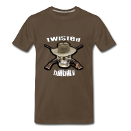 T-Shirts ~ Men's Premium T-Shirt ~ Twisted Hillbilly Shirt