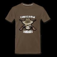 T-Shirts ~ Men's Premium T-Shirt ~ Twisted Hillbilly Shirt