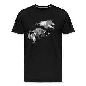 Photographer's camera - Men's Premium T-Shirt