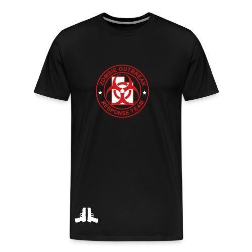 mens zombie outbreak shirt - Men's Premium T-Shirt