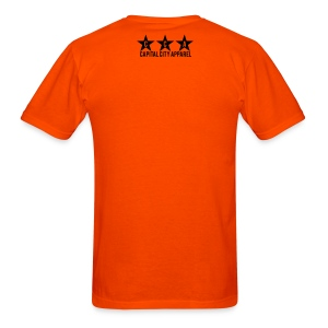 Phuck Filly Men's Tee - Orange - Men's T-Shirt