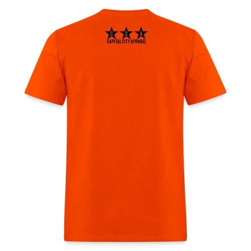 Phuck Filly Men's Tee - Orange - Men's T-Shirt