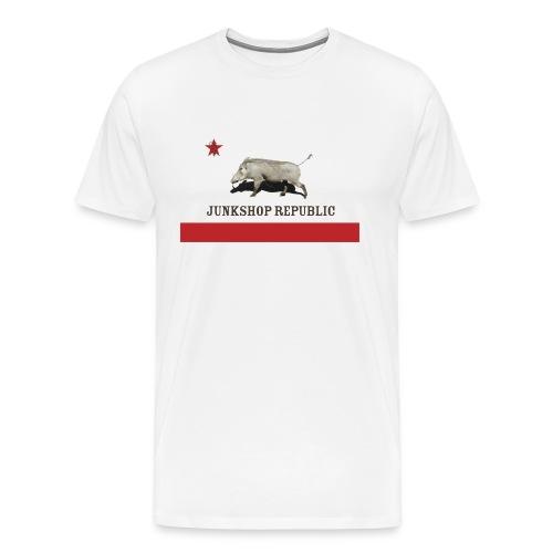 Junkshop Flag Men's T - Men's Premium T-Shirt