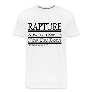 Rapture: Now You See Us, Now You Don't - Men's Premium T-Shirt