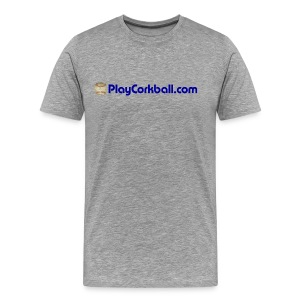 PlayCorkball.com 3XL & 4XL Tee - Men's Premium T-Shirt