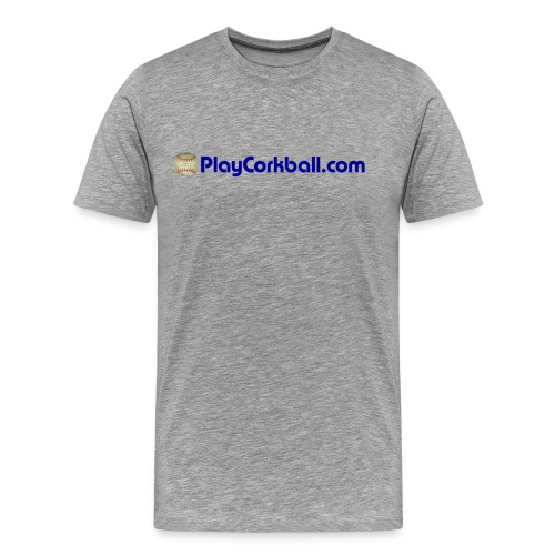 PlayCorkball.com 3XL & 4XL Tee - Men's Premium T-Shirt