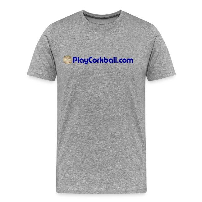 PlayCorkball.com 3XL & 4XL Tee