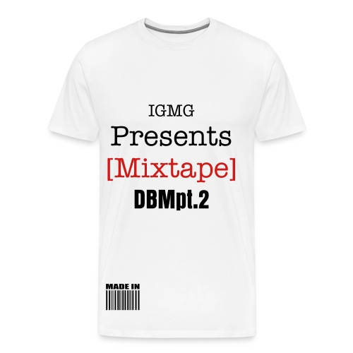 DBM MIXTAPE GRAPHIC T_$HIRT - Men's Premium T-Shirt