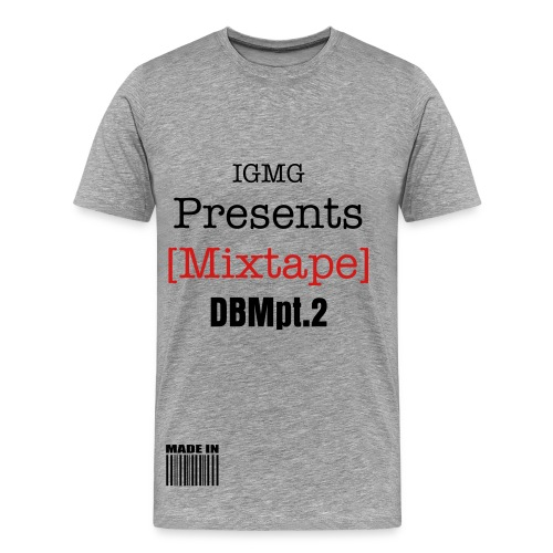 DBM MIXTAPE GRAPHIC T-$HIRT - Men's Premium T-Shirt