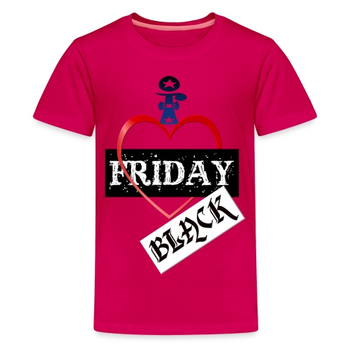 I Love Black Friday - Kids' Premium T-Shirt