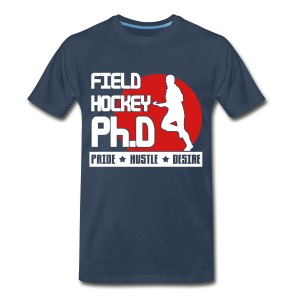 Field Hockey PH.D Men's 3XL & 4XL T-Shirt - Men's Premium T-Shirt
