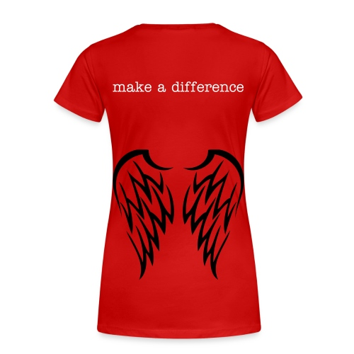 make a difference - Women's Premium T-Shirt