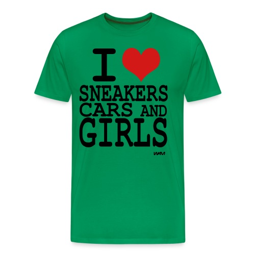 Sneaker Head 2 - Men's Premium T-Shirt
