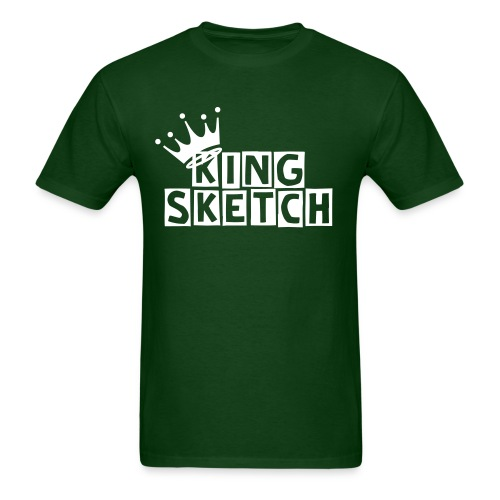 KING SKETCH W/CROWN - Men's T-Shirt