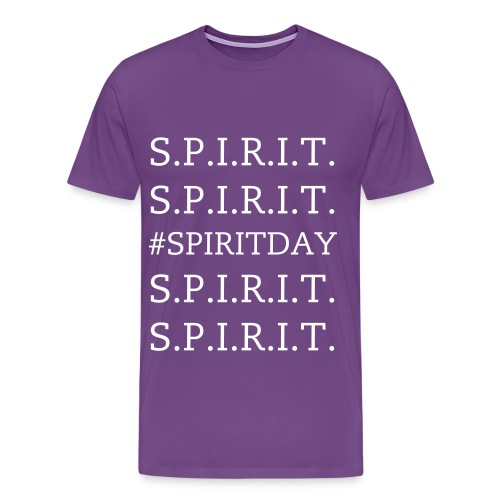 Mens - #SPIRITDAY - White - Men's Premium T-Shirt
