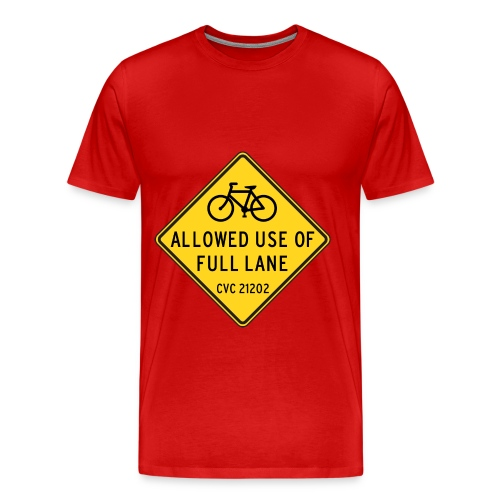 Bicycle t- shirt - Men's Premium T-Shirt