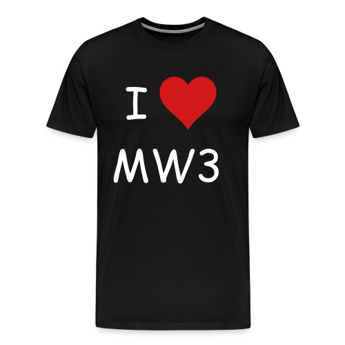 I Love MW3 - Men's Premium T-Shirt
