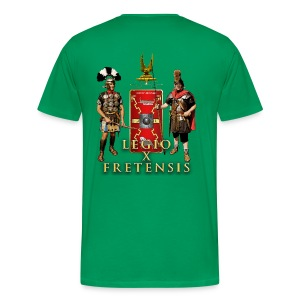 Legio X Fretensis 3XL-4XL T-Shirt - Back Placement - Men's Premium T-Shirt