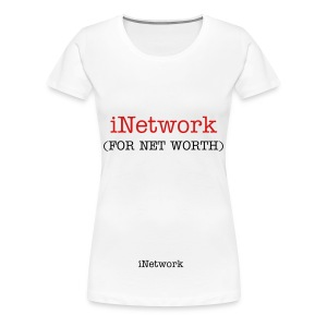 iNetwork Plus Size Women's Fitted Tee - Women's Premium T-Shirt