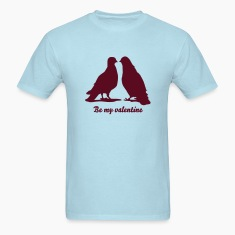 Valentines Dove Couple_2_1c T-Shirts