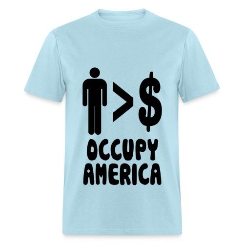 People over profits - Men's T-Shirt
