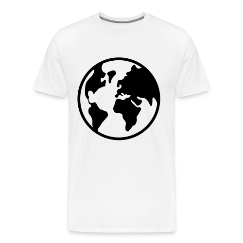 TA Spacely - Globe T-Shirt - Men's Premium T-Shirt