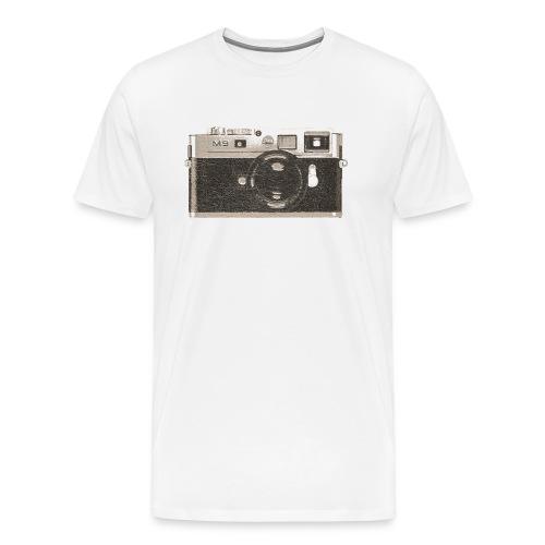 M9 Photographer Camera - Men's Premium T-Shirt
