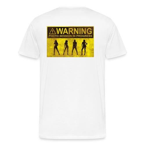 Photo session in Progress - Men's Premium T-Shirt