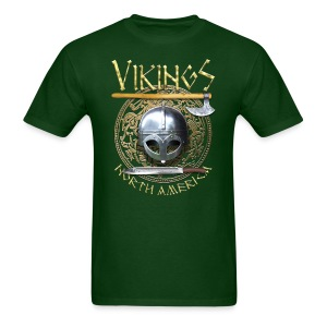 Vikings North America T-Shirt Logo Front - Men's T-Shirt