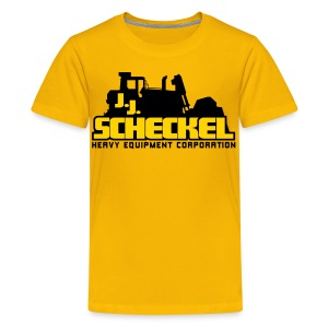 JJ Scheckel Stacked Logo - Kids' Premium T-Shirt