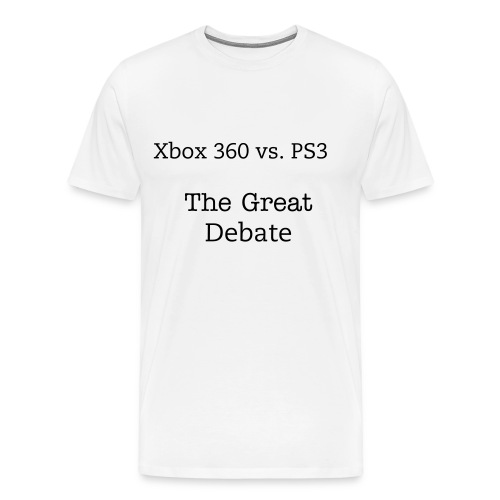 The Great Debate - Men's Premium T-Shirt