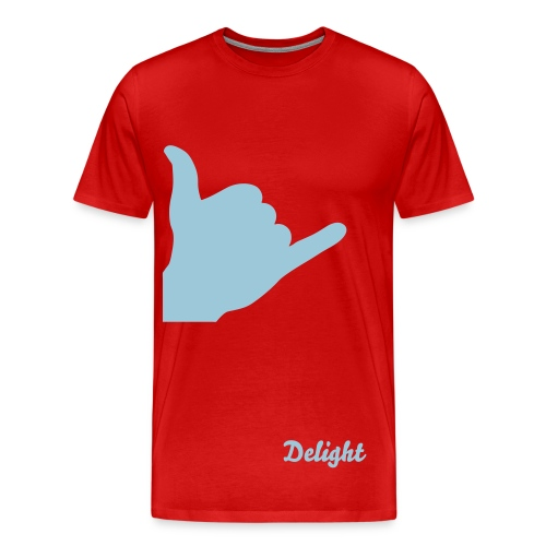 Live, Love, Shaka time! Delight Co. - Men's Premium T-Shirt