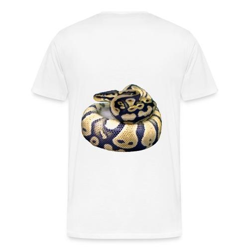 wanna see my python - Men's Premium T-Shirt