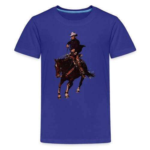 Cowboy - Kids' Premium T-Shirt