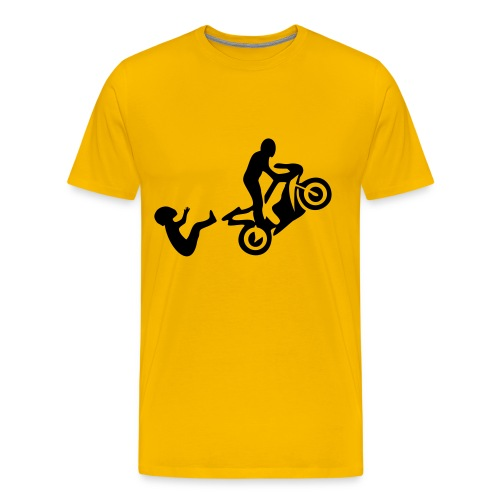 Wheelie Oops! - Men's Premium T-Shirt